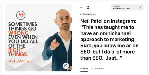 text overlay example pinterest