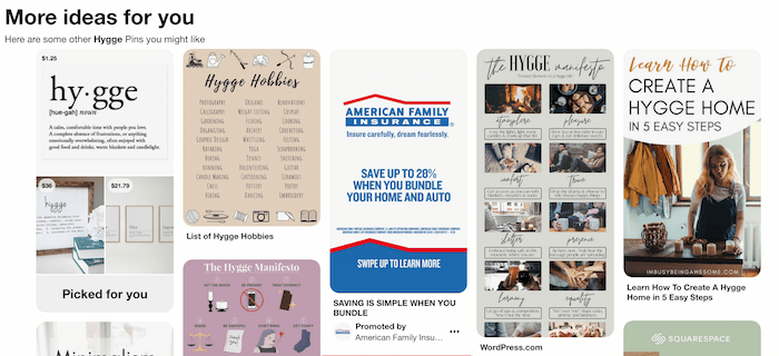 Pinterest Top Hasthags Top posts on Pinterest for the search Hygge