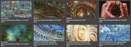 Tyka example generative media