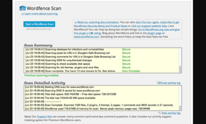 WordPress Best Wordfence Security Review
