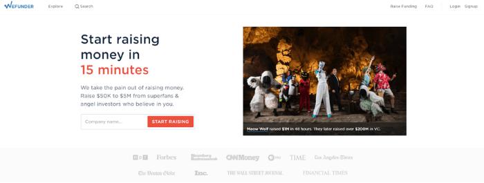 Equity Crowdfunding Companies - WeFunder