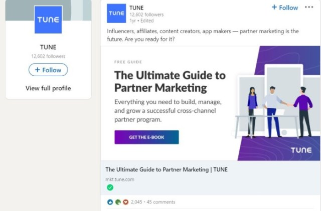 LinkedIn Advertising Ideas - Place Your Ad in Multiple Aligned Page Columns, like Tunes