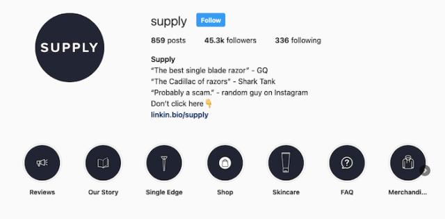 Best Instagram Bios for E- commerce Businesses - MVMT