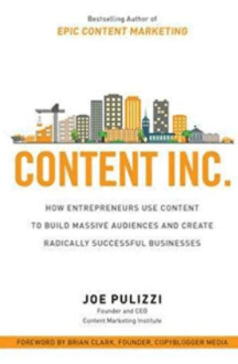 Best marketing books - Content Inc