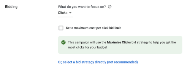 How to Create Call-Only Ads on Google - Bidding