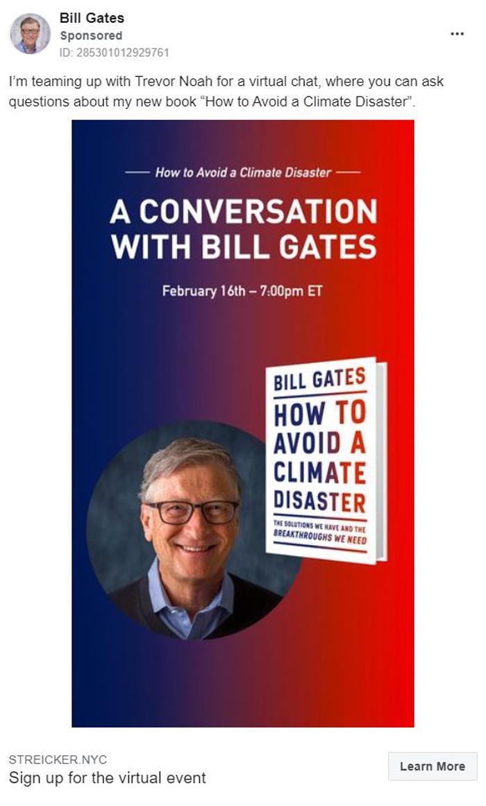 Thought Leadership Marketing - Bill Gates