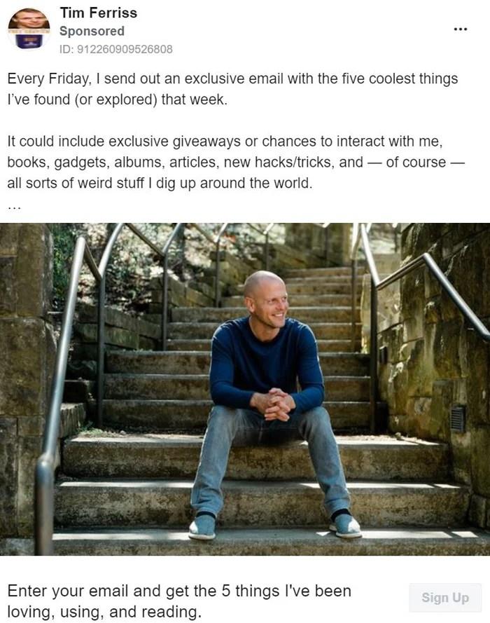 Thought Leadership Marketing - Tim Ferriss