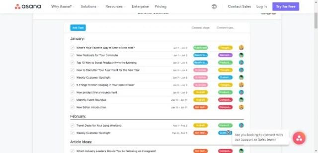 How to Create an Editorial Calendar - Create a Content Backlog