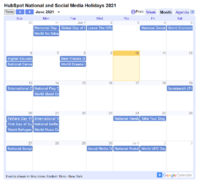 Reasons to Use a Content Calendar for Paid Ad Campaigns - Plan for Holidays