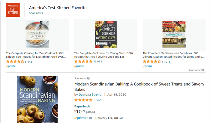 lead magnet example cook books