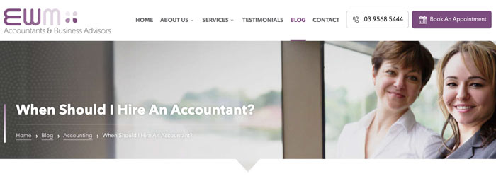 Marketing Tips for Accountants CPAs Create a Blog For Your Website Twin Front