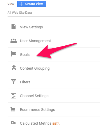 How to Use Google Analytics Like a Pro - Set Your Goals
