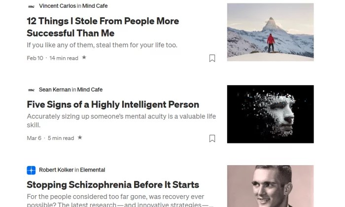 Medium feed for Best Blogging Platforms
