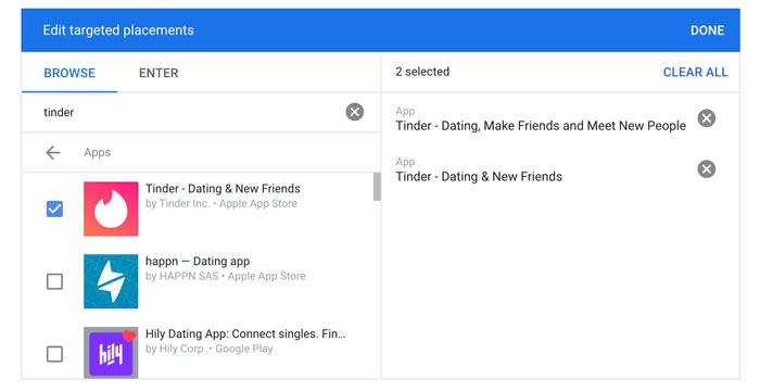 How to Create Tinder Ads on Google - Tinder Ad Placement