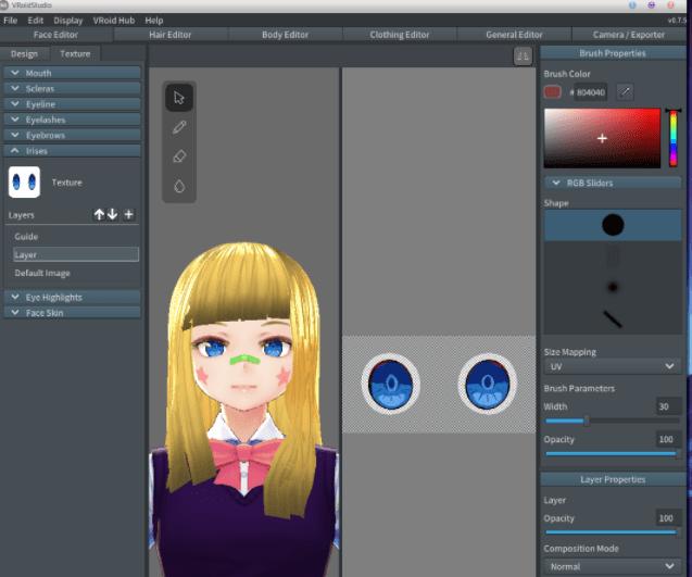 create vtuber avatar example