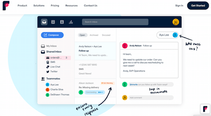 AI Tools for Email Inbox Management - FrontApp