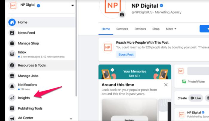 facebook hidden tools insights