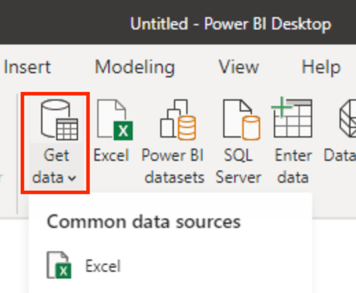Getting Started With Power BI for Marketing - Import Your Data