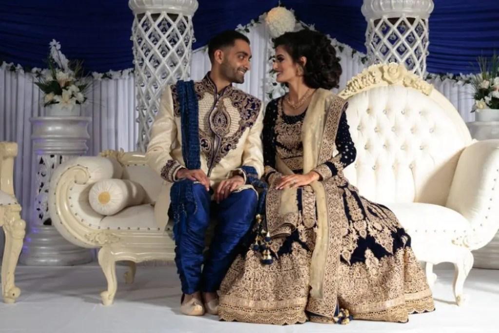 Muslim Groom and his Bride.