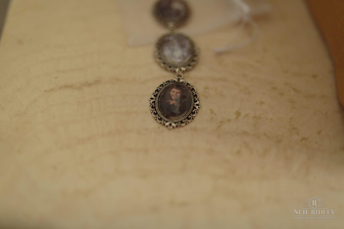 Photo charms to go in brides bouquet