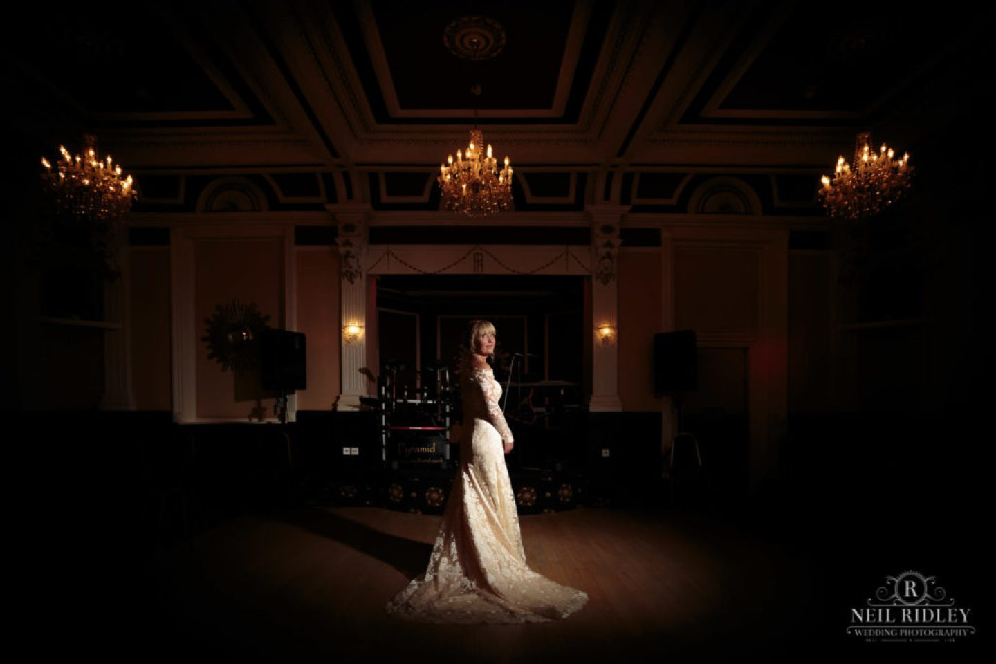Portrait of Bride at The Park House Hotel, Blackpool