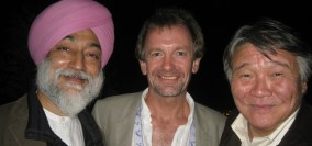 Neil, Mandip and Jalsa at PURE Life Experiences, Marrakech