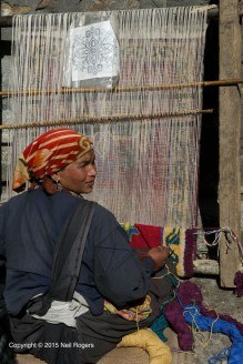 Traditional Weaver Tolma