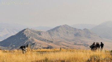Overlooking Topaz Lake