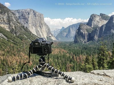 Picture of my Panasonic FZ1000 overlooking Yosemite