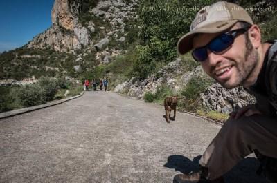 Abella de la Conca - Walking Up