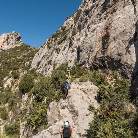 Voila, endless near virgin climbing lines