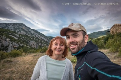 In the Mountains with Mum