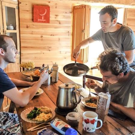 Breakfast in the Refugio