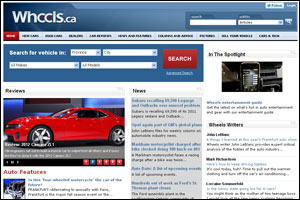 Wheels.ca front page 2011