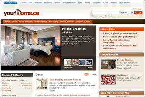 Yourhome.ca front page 2011