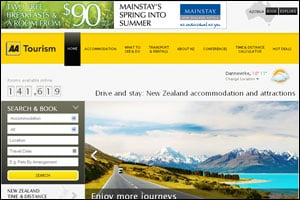 AA Tourism - New Zealand