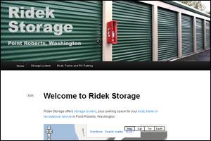Ridek Storage - Point Roberts, Washington