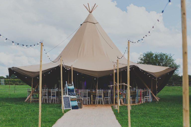 Norfolk Tipi Wedding Photography