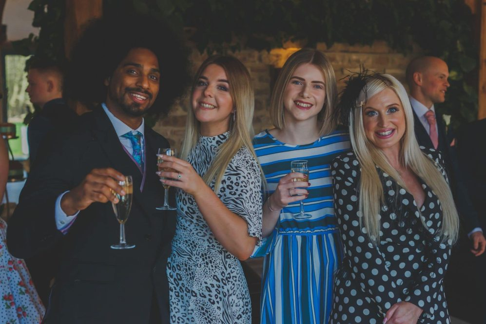 wedding day group photography