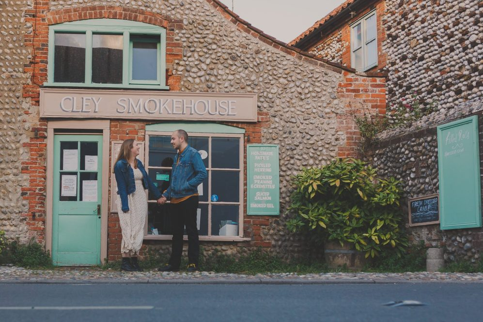 Cley Next the Sea engagement photos
