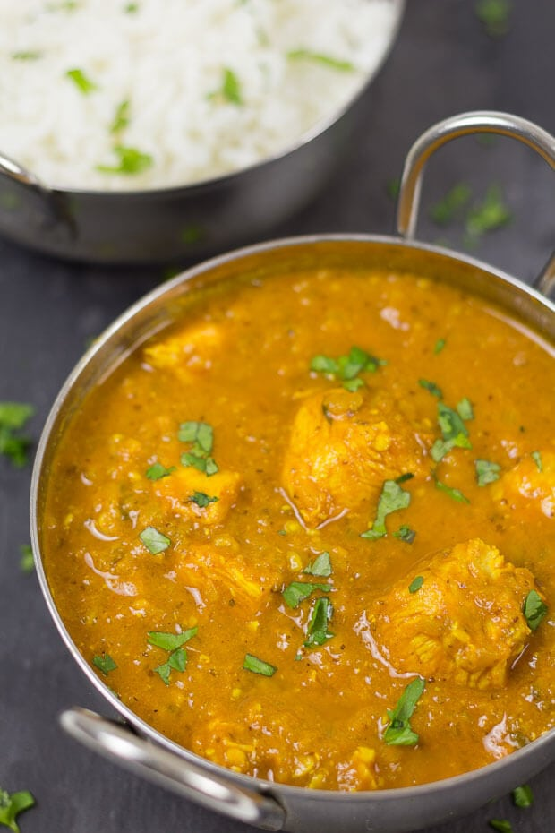 Like it spicy and hot? But not so hot as to ruin the taste? Then you'll absolutely love this lower fat, lower calorie Chicken Vindaloo. favourite of ours.