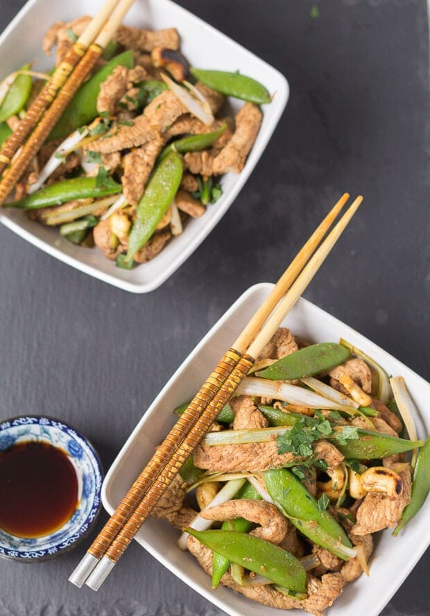 You'll love this stir fry turkey with sugar snap peas recipe. Not only is it really healthy but it's quick and easy to prepare too. A perfect quick healthy meal for two ready in just 40 minutes!