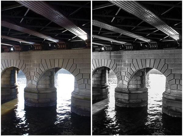 Under 2nd Caledonian Railway Bridge