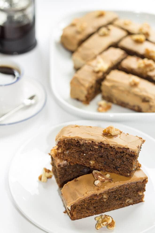 Coffee Walnut Cake Main