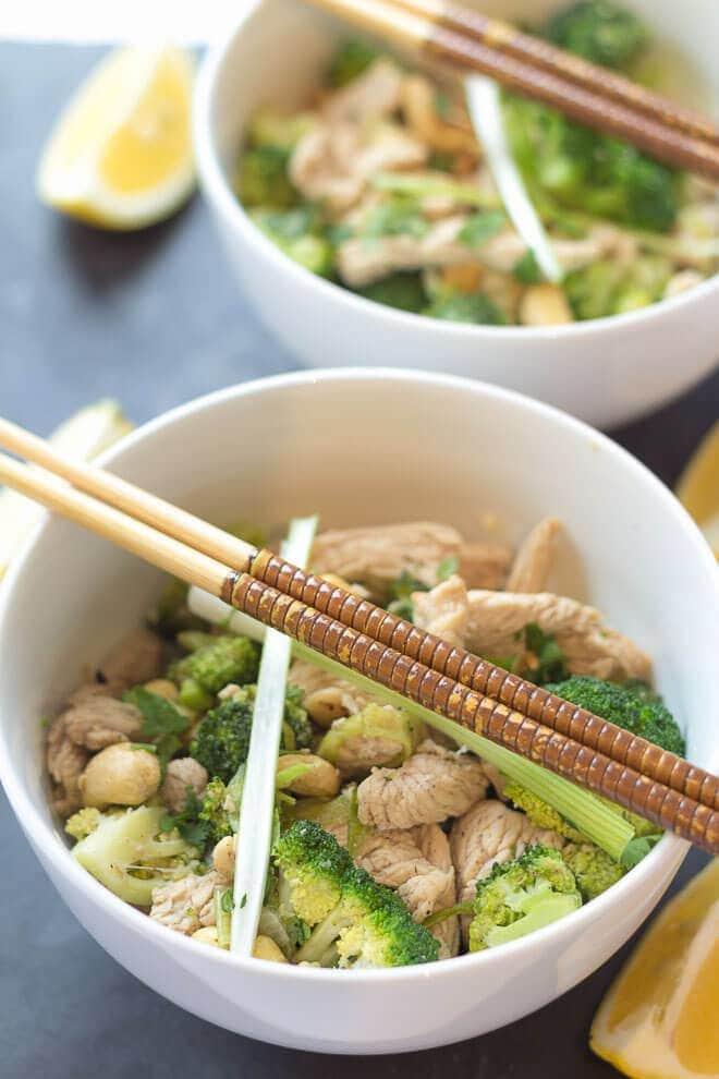 Turkey and Broccoli Stir Fry