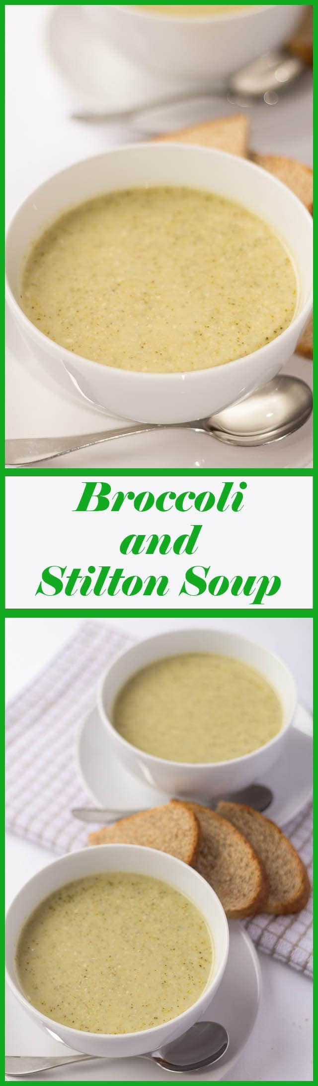 Cheesy, creamy and just delicious. This healthy, low calorie broccoli and stilton soup brings a warm glow, made at any time of the year.