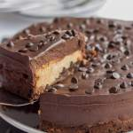Peanut Butter Chocolate Chip Cheesecake Featured Image
