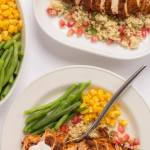 Cajun Spiced Chicken with Pomegranate Couscous