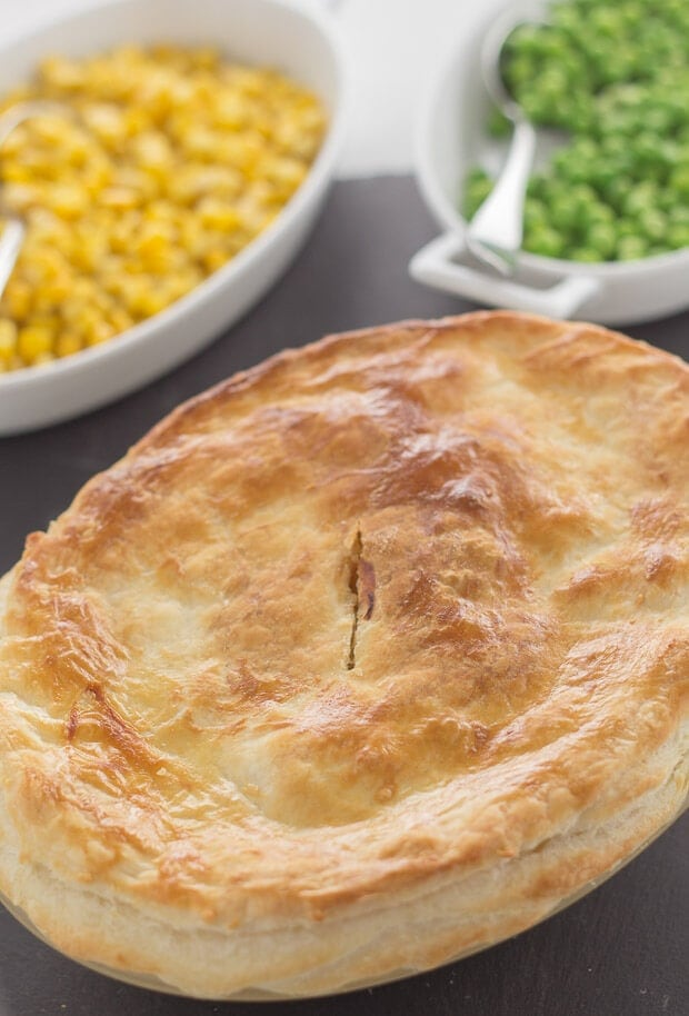 This turkey and leek pie is a simple and quick recipe for using up any leftover turkey from the festive period. It's a delicious low cost family meal that only requires a few ingredients.