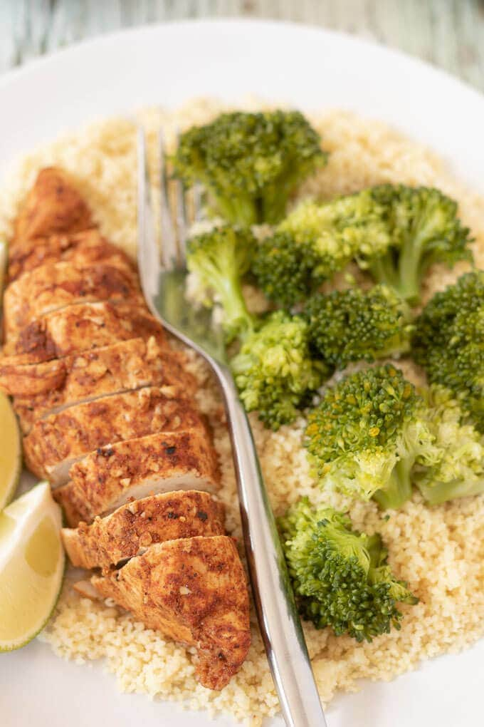 Oven Baked Lime Chicken - Neils Healthy Meals